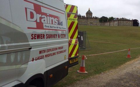 Drains - Aid Castle Howard