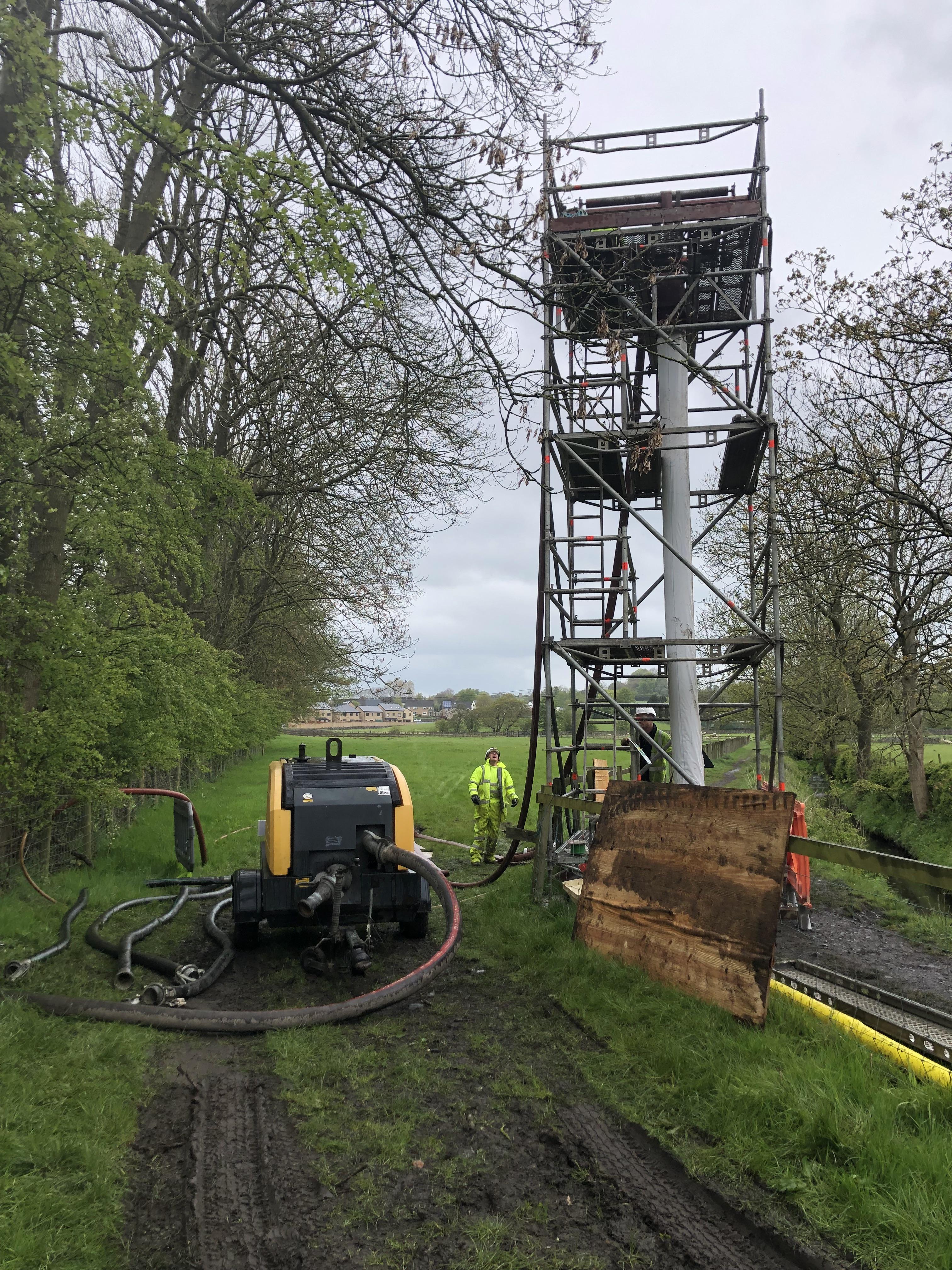 Hot Cipp Liner Rehabilitates Sewer In Lancashire Drainsaid