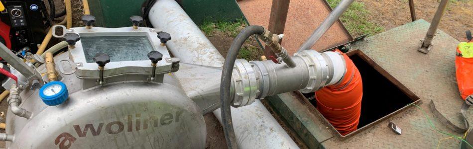 brawoliner installation to water main