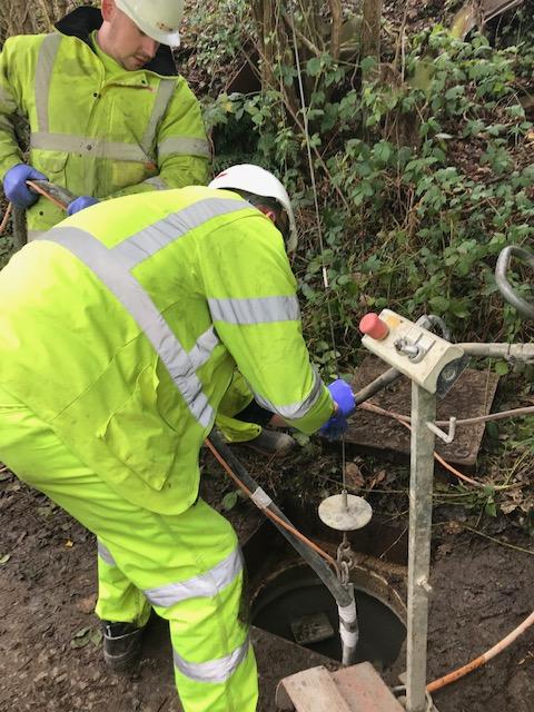 m-coating the manhole